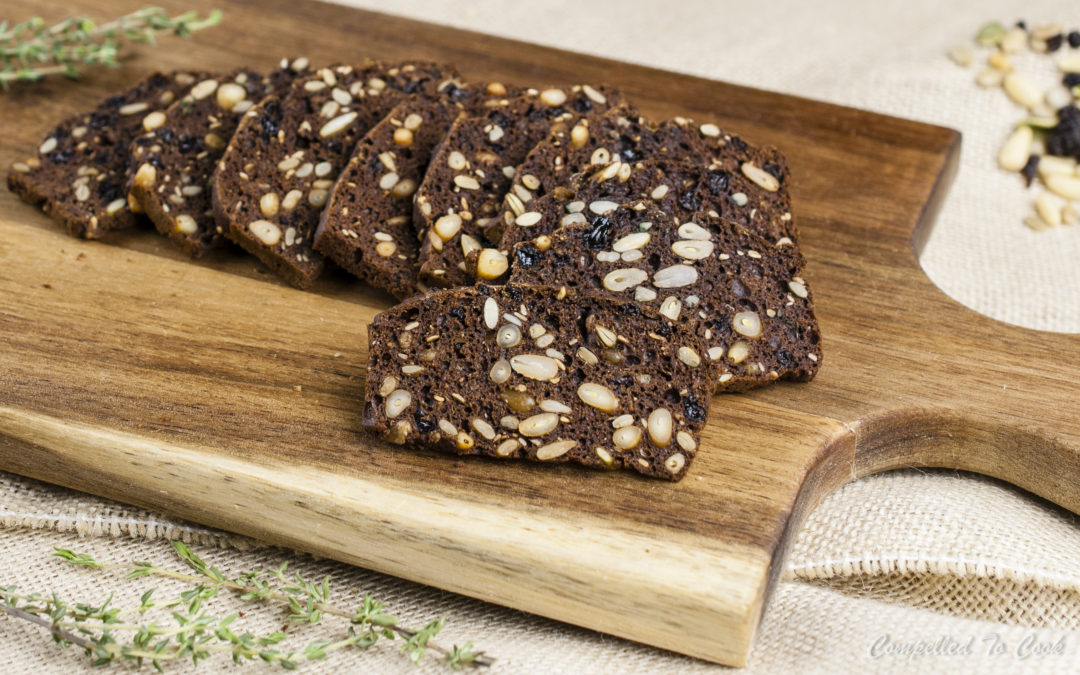 Pumpernickel Seed & Nut Crisps