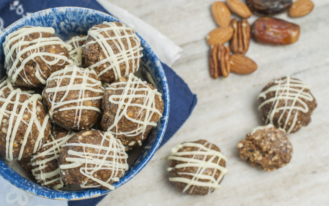 Maple Date and Nut Snack Bites