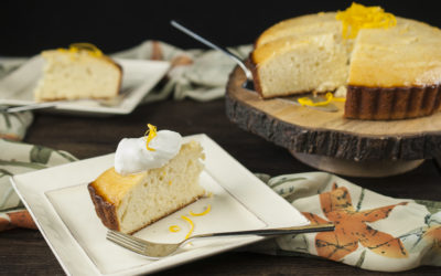 Cardamom Orange Yogurt Cake
