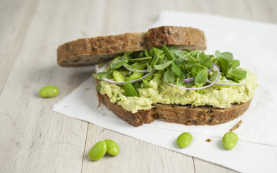 Edamame and Chickpea Sandwich Filling