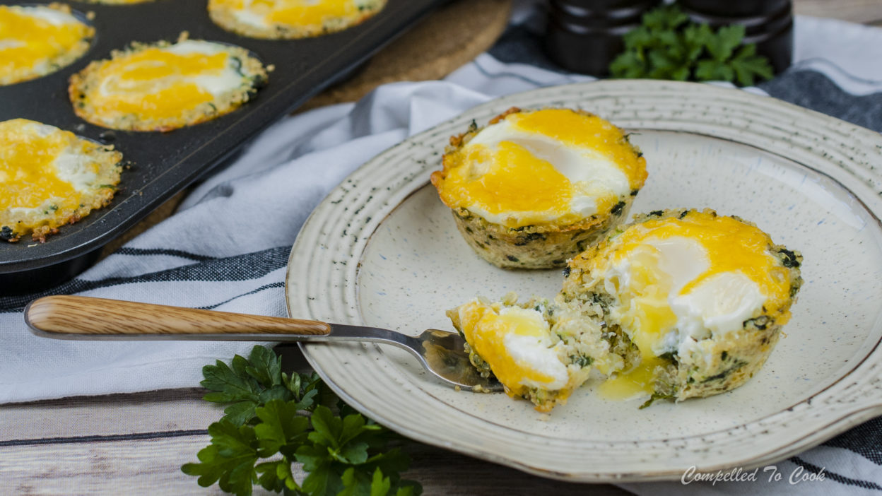 Quinoa Spinach Egg Cups Compelled To Cook