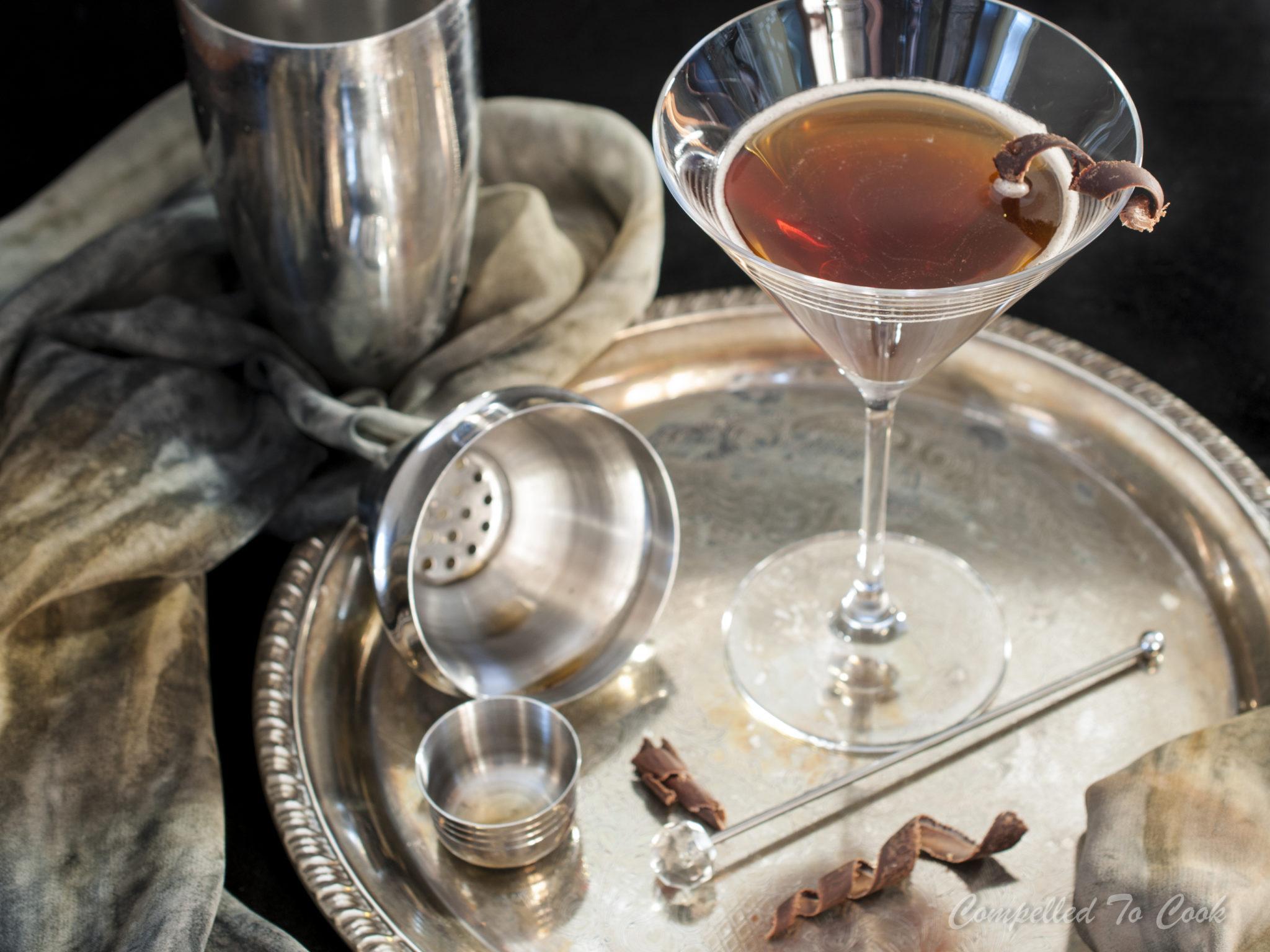 Drambuie Espresso Martini - Compelled to Cook