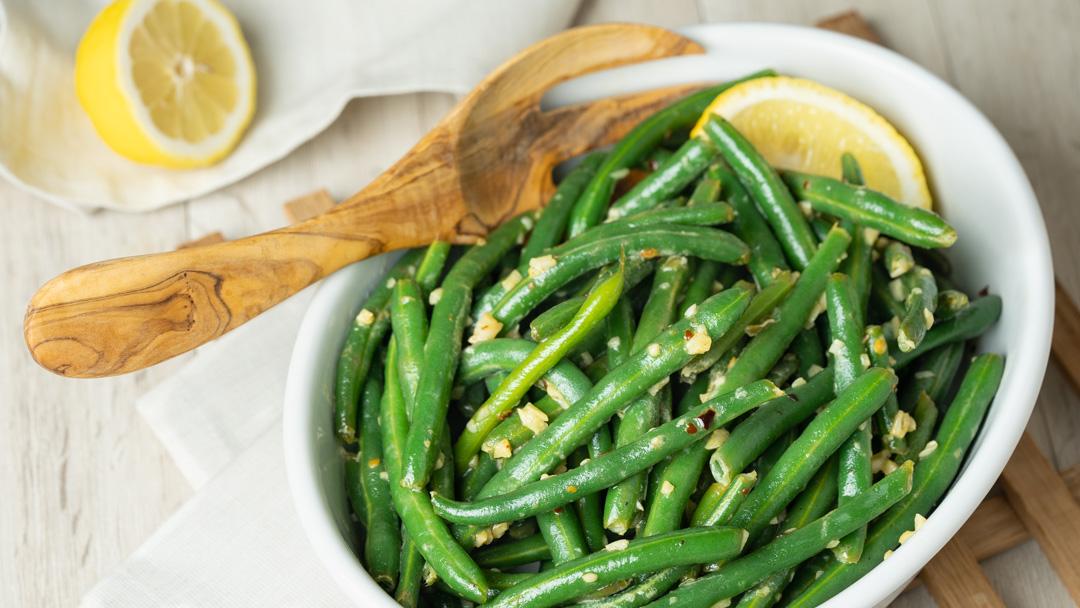 Garlicky Buttered Beans