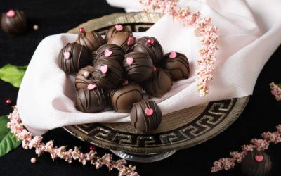 Chocolate Chambord Truffles